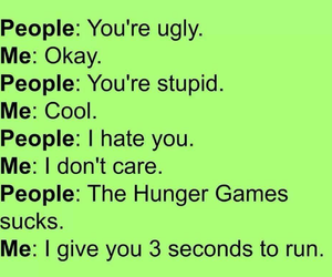 stupid and hunger games image
