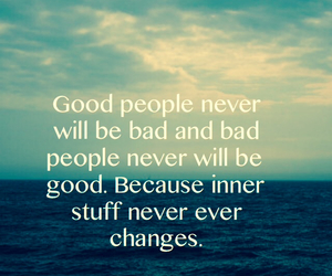 good people, the truth, and true image