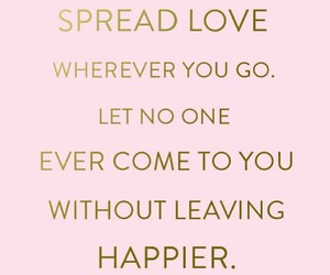 happy, love, and kindness image