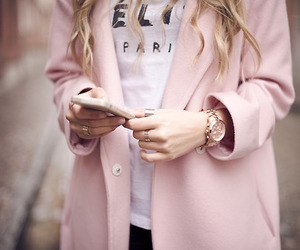 fashion, pink, and celine image