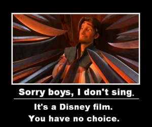 disney, funny, and tangled image
