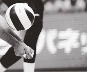 volleyball and ball image