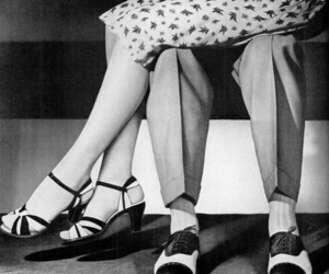 vintage, black and white, and love image