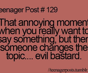 teenager post and quote image