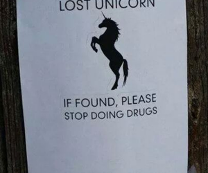 unicorn, drugs, and lost image