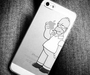 cellphone, homer simpson, and jeans image