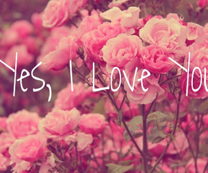 yes, you, and love image