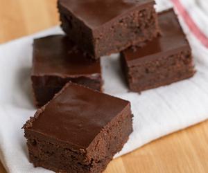 brownies, eat, and sugar image