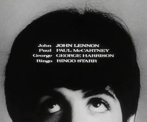 Paul McCartney, george harrison, and john lennon image