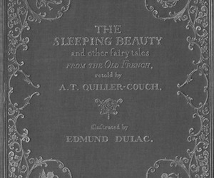 sleeping beauty and book image