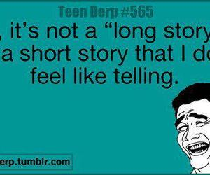 laugh, quote, and story image