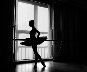 ballet, beatiful, and dance image