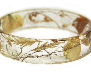 resin jewelry, natural jewelry, and fall jewelry image