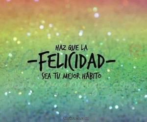 felicidad, habito, and happy image