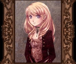 blonde, girl, and vampire image
