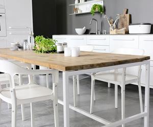interior, kitchen, and design image