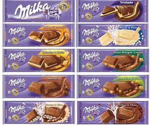 chocolate, delicious, and milka image