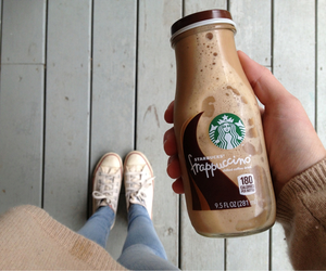 starbucks, converse, and coffee image