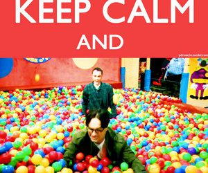bazinga, keep calm, and the big bang theory image