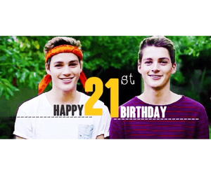 birthday, finn, and jack image