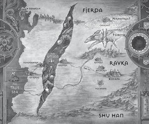 darkling, shadow and bone, and siege and storm image