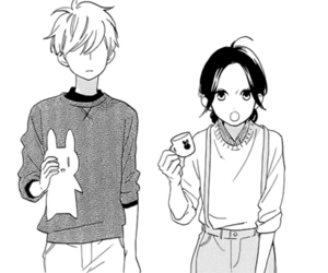 hirunaka no ryuusei, manga, and love image