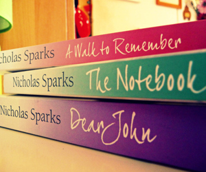 book, nicholas sparks, and the notebook image