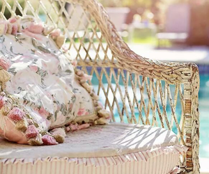 garden, chair, and Lazy image