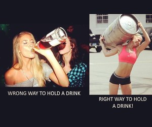 drink, gym, and lift image