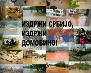 Serbia, floods, and domovina image