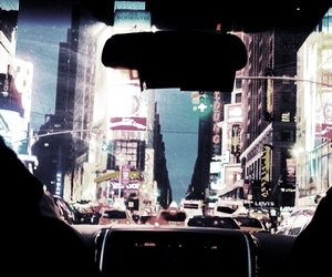 car, city, and new york image