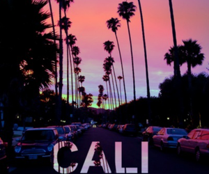 california, summer, and cali image