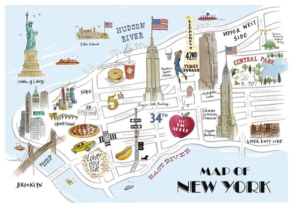 america city map new york nyc usa inspiring picture on