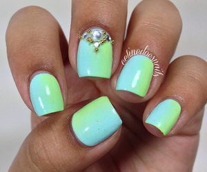 colourful, nails, and photography image