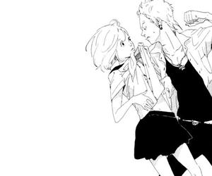 fight, manga, and tomodachi no hanashi image