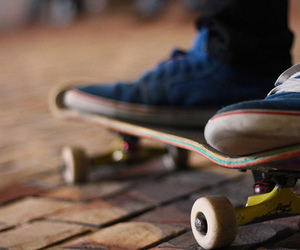 skate, photography, and shoes image