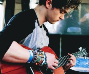 the vamps, band, and guitar image