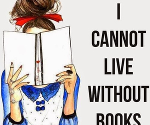 books, can't live without, and love image