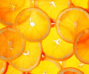 orange, summer, and food image