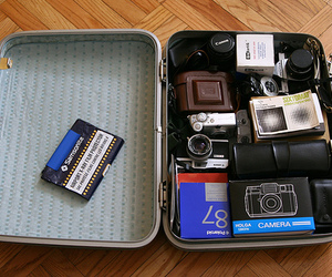cameras, polaroid, and canonet image