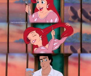 ariel, beautiful, and eric image