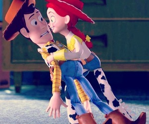 toy story, love, and woody image