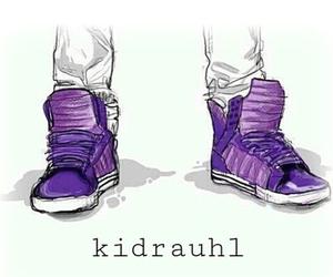 justin bieber, purple, and kidrauhl image