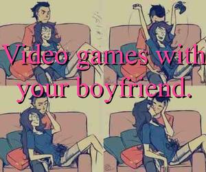 boyfriend, couple, and girlfriend image