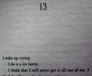 sad, depressed, and book image