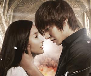 Korean Drama, lee min-ho, and park min-young image
