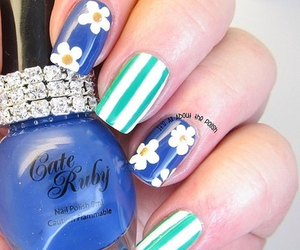 creative, flowers, and nails image