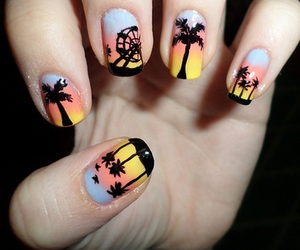 beach, Dream, and nails image