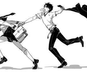 anime, shingeki no kyojin, and couple image