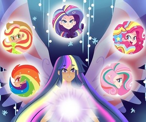 twilight sparkle, rainbow dash, and pinkie pie image